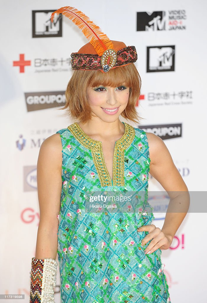 BENI walks on the red carpet during the MTV Video Music Aid Japan on June 25, 2011 in Chiba, Japan.