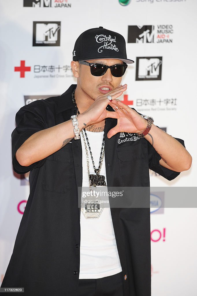 AK-69 walks on the red carpet during the MTV Video Music Aid Japan on June 25, 2011 in Chiba, Japan.