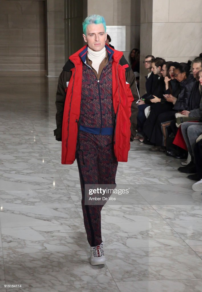 Perry Ellis - Runway - February 2018 - New York Fashion Week Mens'