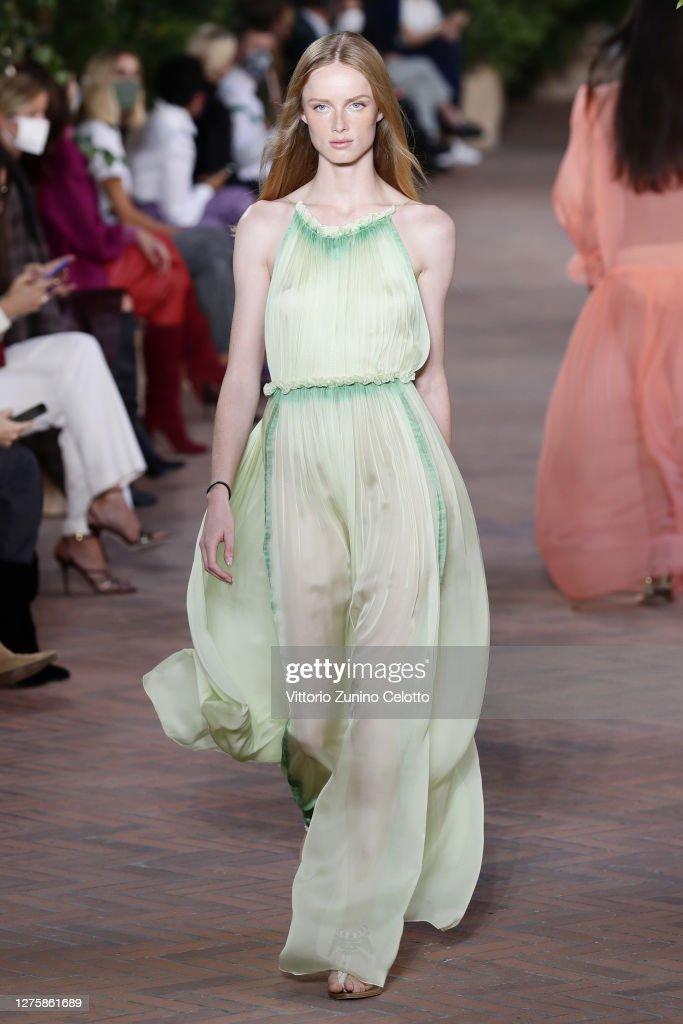 Alberta Ferretti - Runway - Milan Fashion Week Spring/Summer 2021 : News Photo