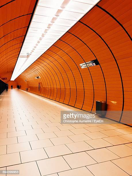 Walkway In Subway