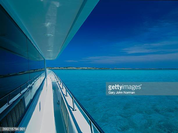 walkway on deck - vehicle interior stock pictures, royalty-free photos & images