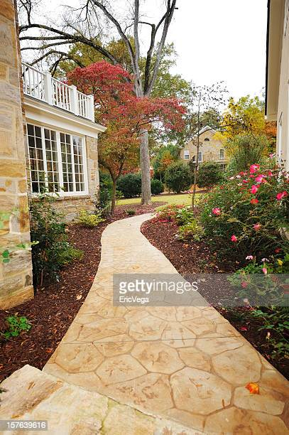 walkway - pedestrian walkway stock pictures, royalty-free photos & images