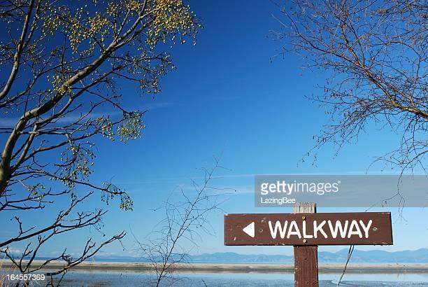 Walkway Sign, 'The Kumaras', Motueka, NZ