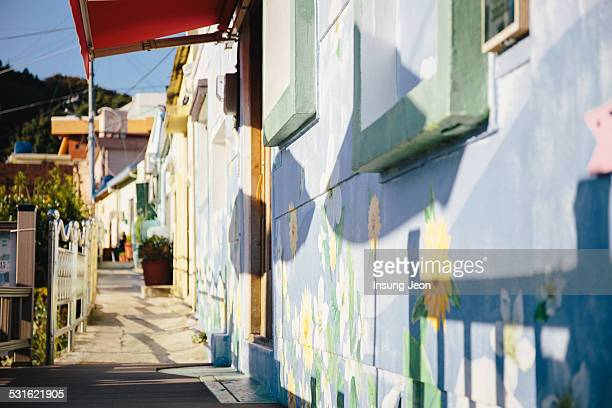Wall art in Culture Village