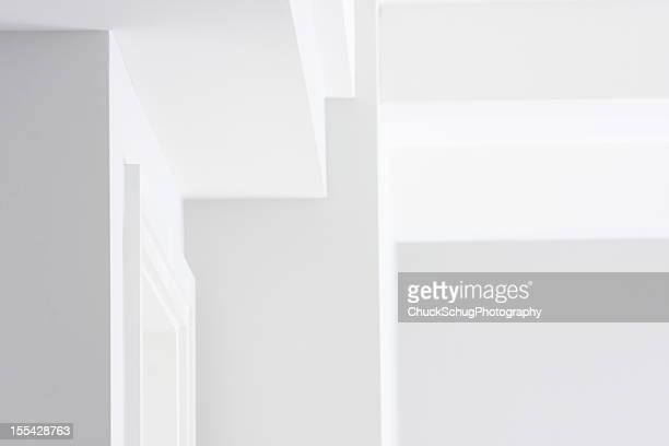 wall ceiling corner architecture decor - nook architecture stock pictures, royalty-free photos & images