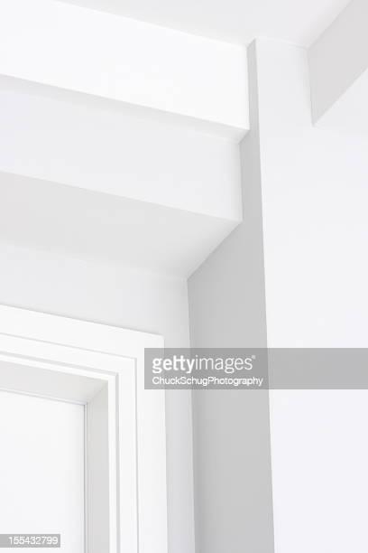 Mur plafond Architecture d'angle à la décoration