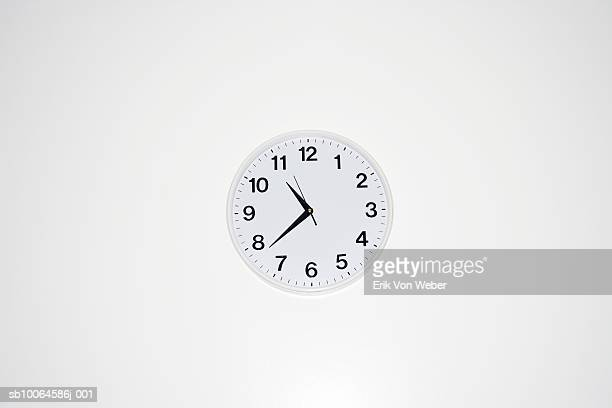 wall clock, close-up - wall clock stock photos and pictures