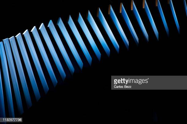 wall decoration structure - installation art stock pictures, royalty-free photos & images