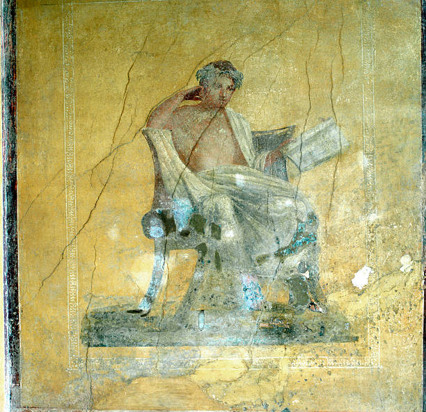 Wall Fresco, House of the Menander, Pompeii. Pictures | Getty Images