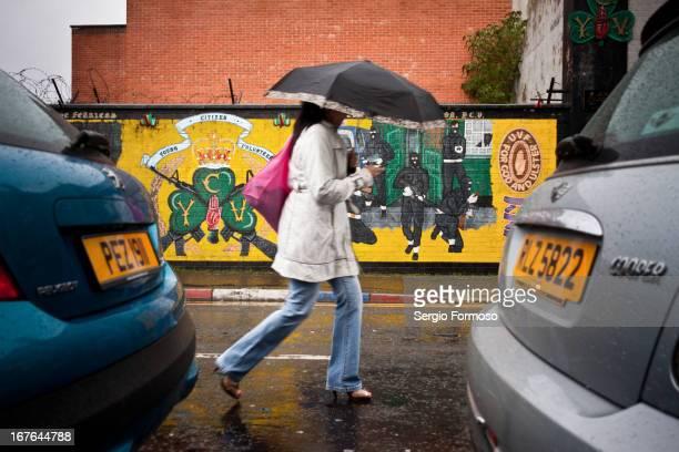 Wall in South Belfast