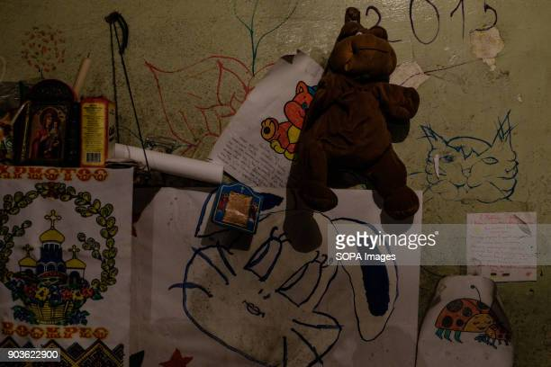Wall is a place to express joy anger and to leave notes for the newcomers The conflict between the Russian backed rebels and the Ukrainian arm forces...