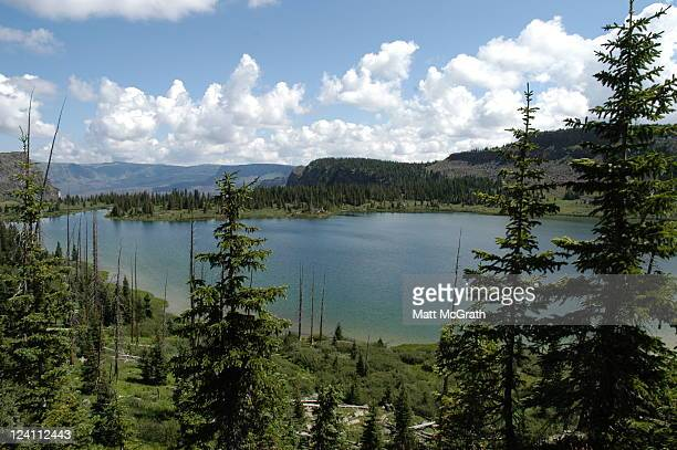 wall lake, flat tops wilderness - white river national forest stock photos and pictures