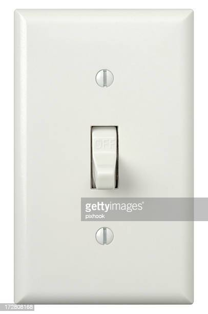 Wall Light Switch with Path