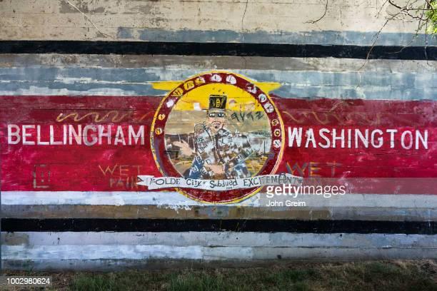 Wall mural Bellingham Washington State USA