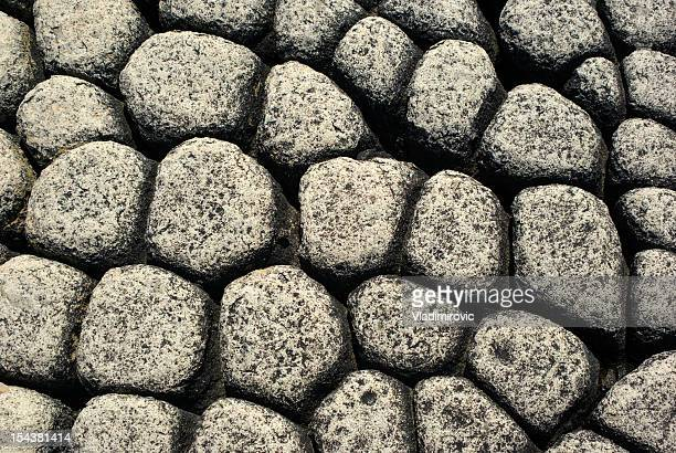 wall natural stone - volcanic terrain stock photos and pictures