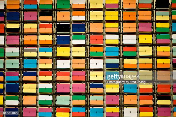 Wall of colors