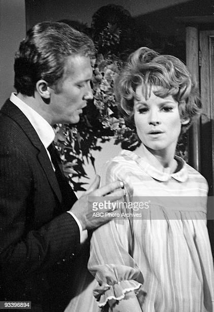 """Wall of Crystal"""" - Season One - 5/2/67, Roy Thinnes and guest star Julie Sommars ,"""