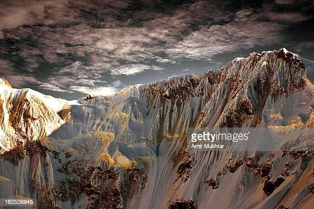 Wall Of Nanga Parbat Mountain (7816 mtr)