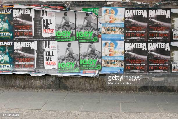 Mur de posters