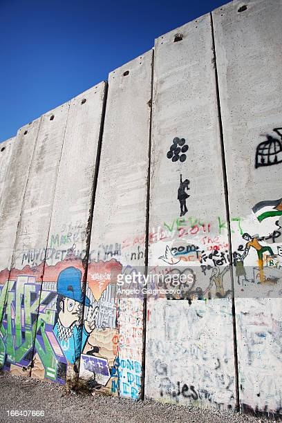 Wall of shame in Palestine.