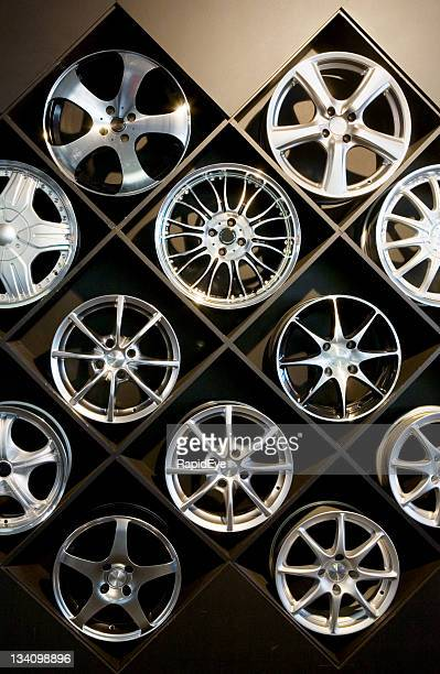 Wall of wheels #2