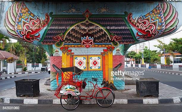 wall painting - yogyakarta stock pictures, royalty-free photos & images