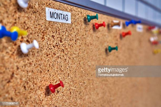 wall - monday stock pictures, royalty-free photos & images