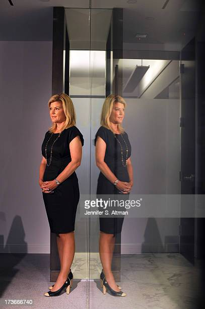 Wall Street analyst and investment advisor, CEO of Meredith Whitney Advisory Group, Meredith Whitney is photographed for USA Today on June 3, 2013 in...