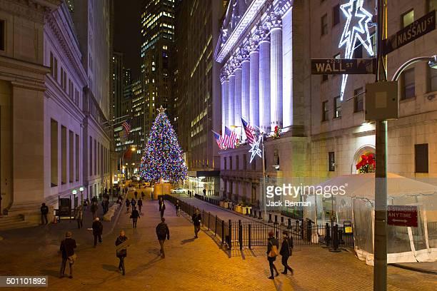 Wall Street Christmas Holidays