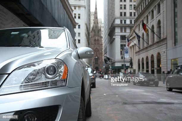 Wall Street, Low Angle View