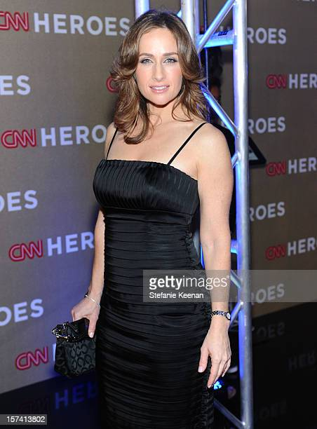 CNN Wall Street Reporter Alison Kosik attends the CNN Heroes An All Star Tribute at The Shrine Auditorium on December 2 2012 in Los Angeles...