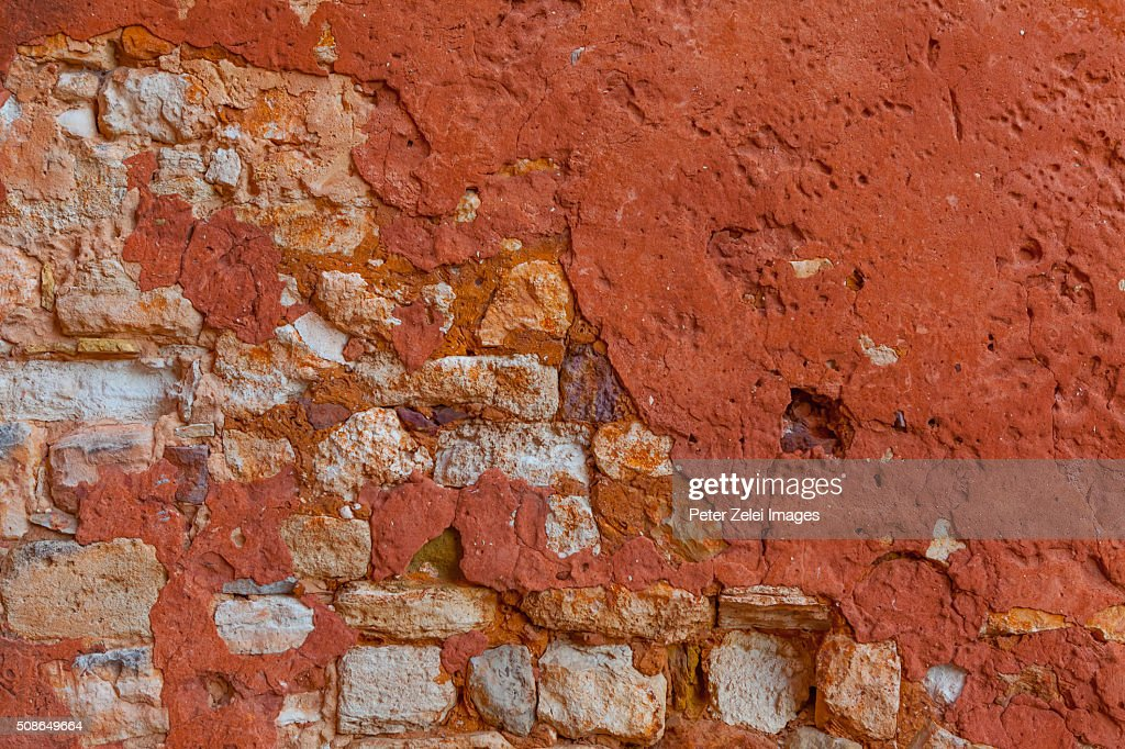 Wall texture from Provence : Stock Photo