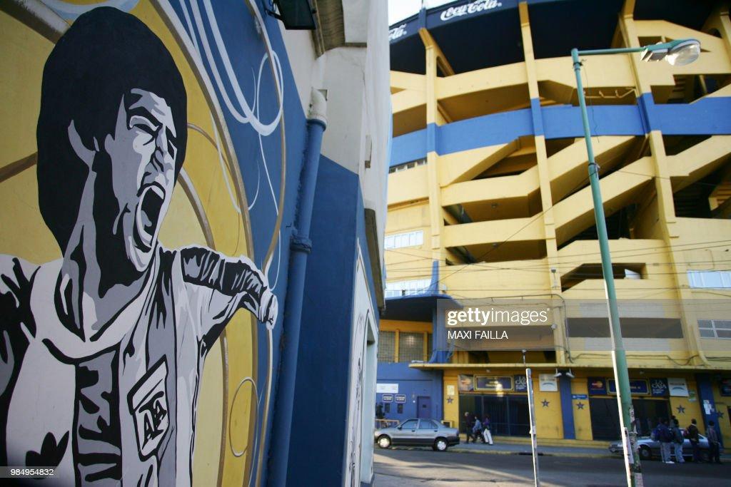 ARGENTINA-THEME-STREET ART : News Photo