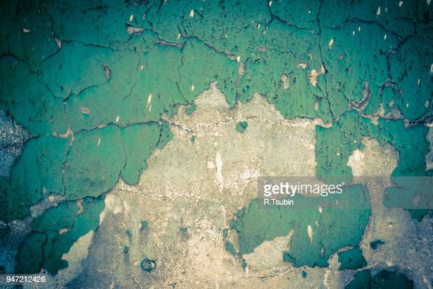 wall with dark edges and some old paint - dust dark stock photos and pictures