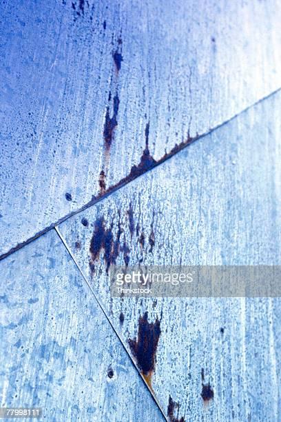 wall with rust - rust colored - fotografias e filmes do acervo