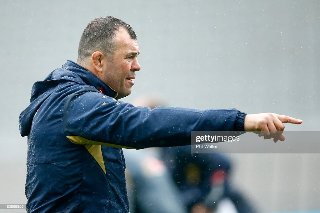 Australian Wallabies Captain's Run : News Photo