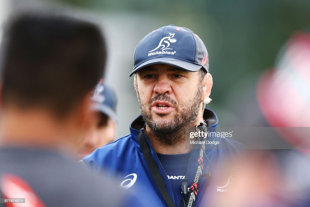 Wallabies Training Session : News Photo