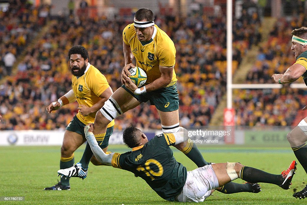 Australia v South Africa : News Photo