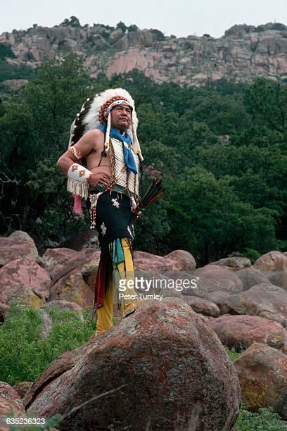 Wallace Coffey a chief of the Comanche