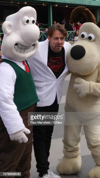 Wallace, Jonathan Ross and Gromit