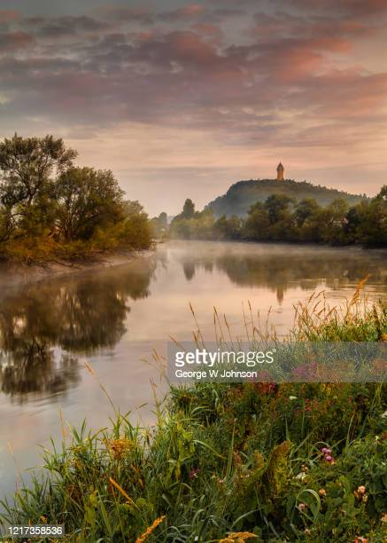 wallace monument - landscape stock pictures, royalty-free photos & images