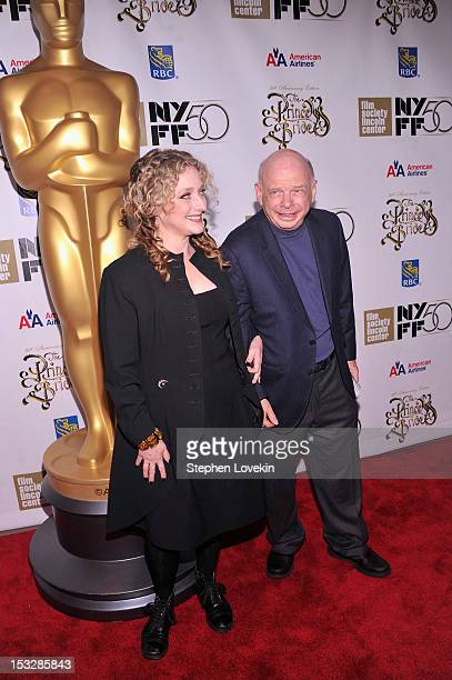 Wallace Shawn and Carol Kane attend the 25th anniversary screening cast reunion of 'The Princess Bride' during the 50th New York Film Festival at...