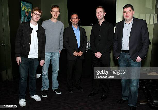 A Wallach first artistinresidence at Spotify Ian Rogers moderator and CEO of Topspin Seth Goldstein CEO of Turntablefm Andrew Fisher CEO of Shazam...