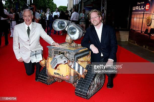 'WallE' Premiere In Paris France On July 17 2008 Ben Burtt and Andrew Stanton