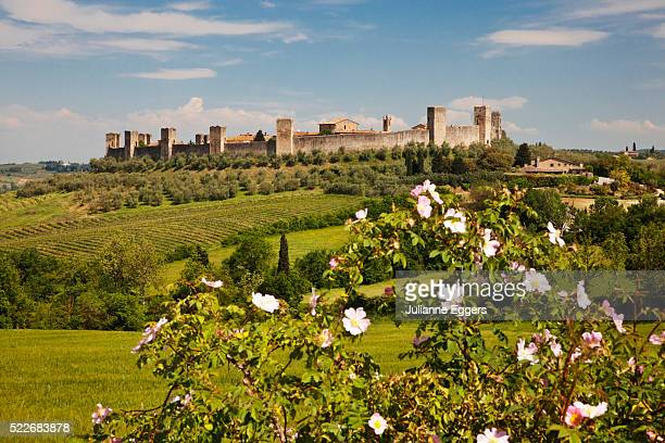 Walled Town of Monteriggioni