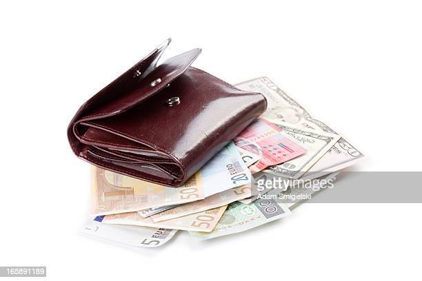 wallet & cash