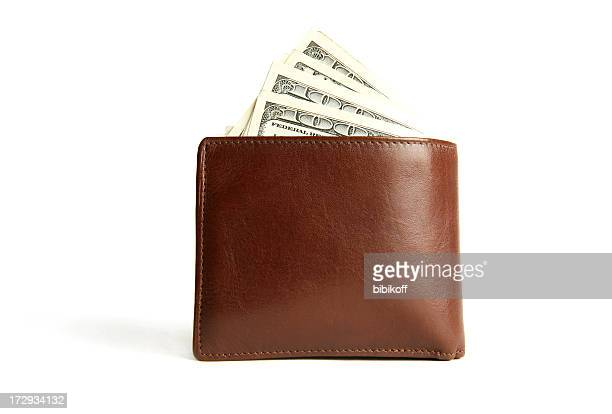 wallet - leather purse stock pictures, royalty-free photos & images