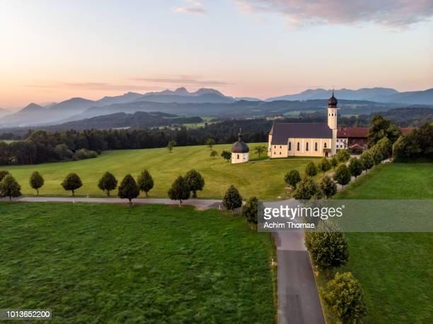 Wallfahrtskirche Wilparting, Irschenberg, Bavaria, Germany