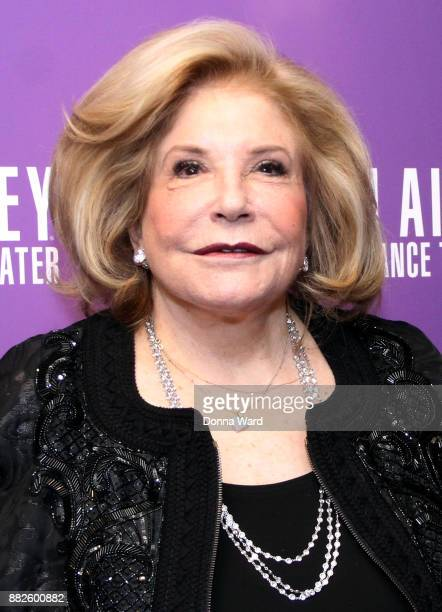 Wallis Annenberg attends Alvin Ailey's 2017 Opening Night Gala at New York City Center on November 29 2017 in New York City